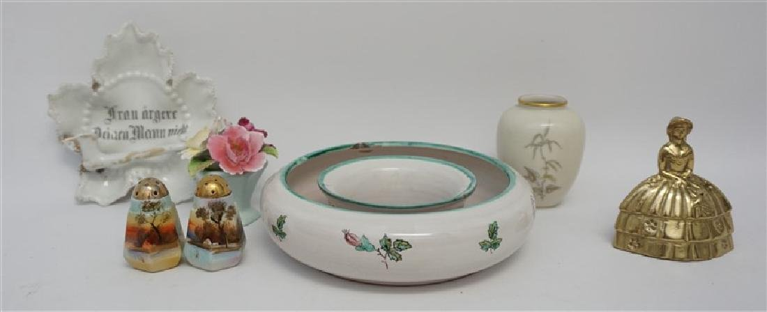 5 pc VINTAGE PORCELAIN AUSTRIA + GERMANY + - 9