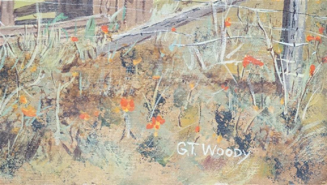 GORMAN WOODY (1907-2000) MONTEREY FARM - 3