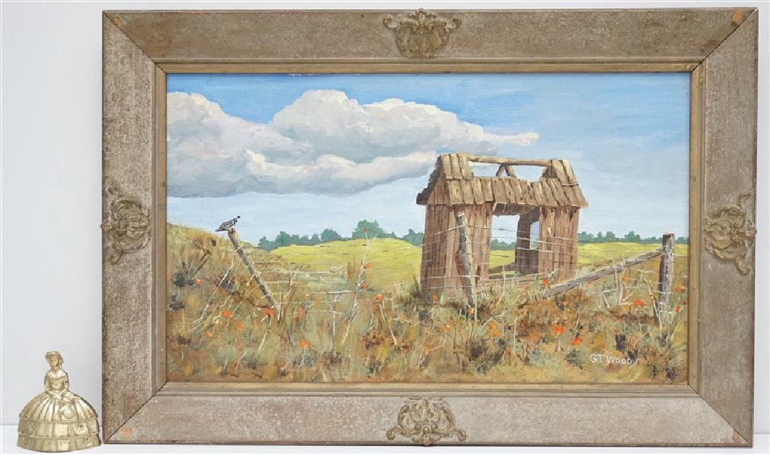 GORMAN WOODY (1907-2000) MONTEREY FARM - 7