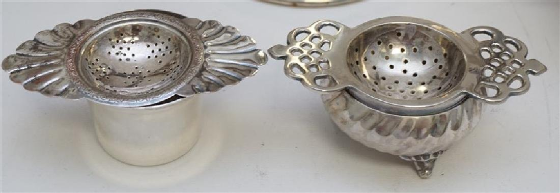 LOT OF VINTAGE ORNATE SILVER PLATE - 5