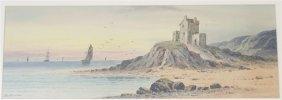 TOM SEYMOUR (1844-1904) COASTAL WATERCOLOR