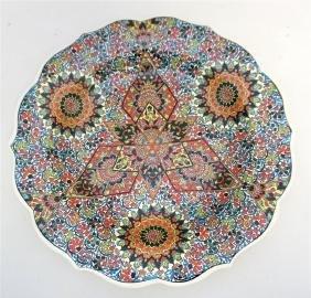 TURKISH ISNIK STYLE WALL PLATE
