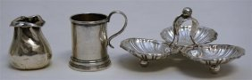 3 PC STERLING SILVER MINIATURES - LUNT +