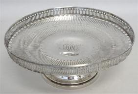AMERICAN c. 1910 STERLING SILVER COMPOTE