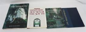 4PC CHARLESTON HOUSE & GARDENS BOOKS