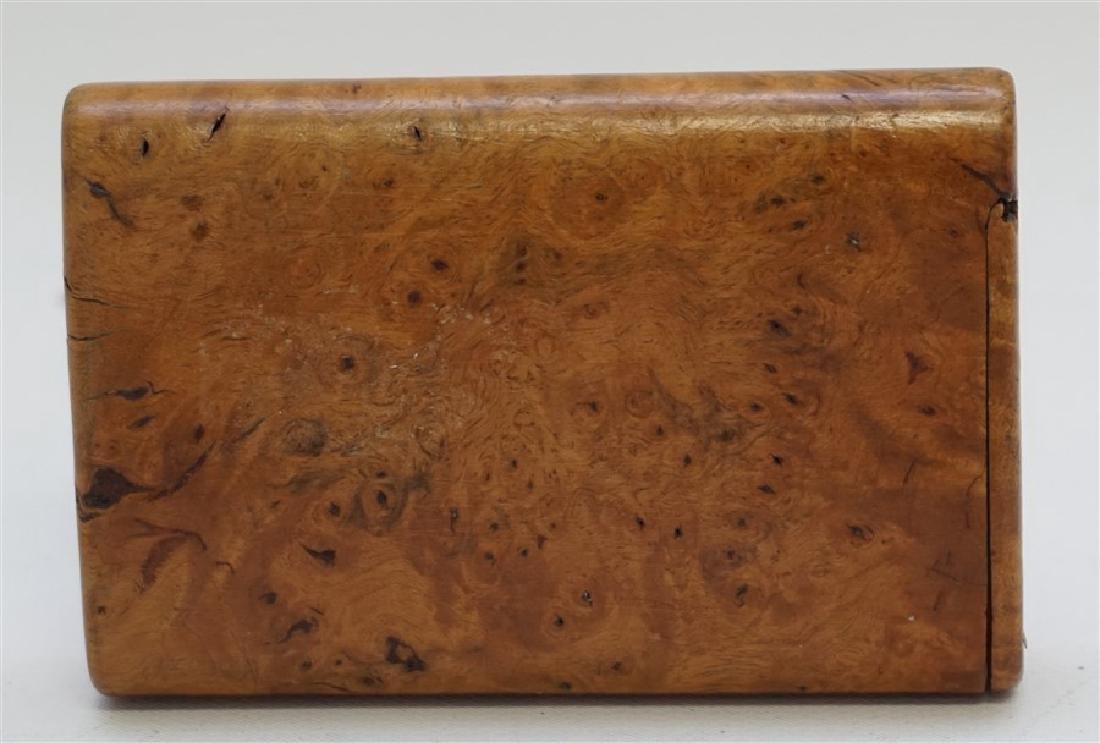 RUSSIAN BURL WOOD CIGARETTE CASE - 6