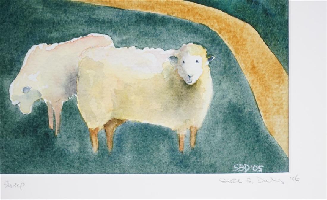 ORIGINAL SARAH BUELL DOWLING FOLK ART - 3