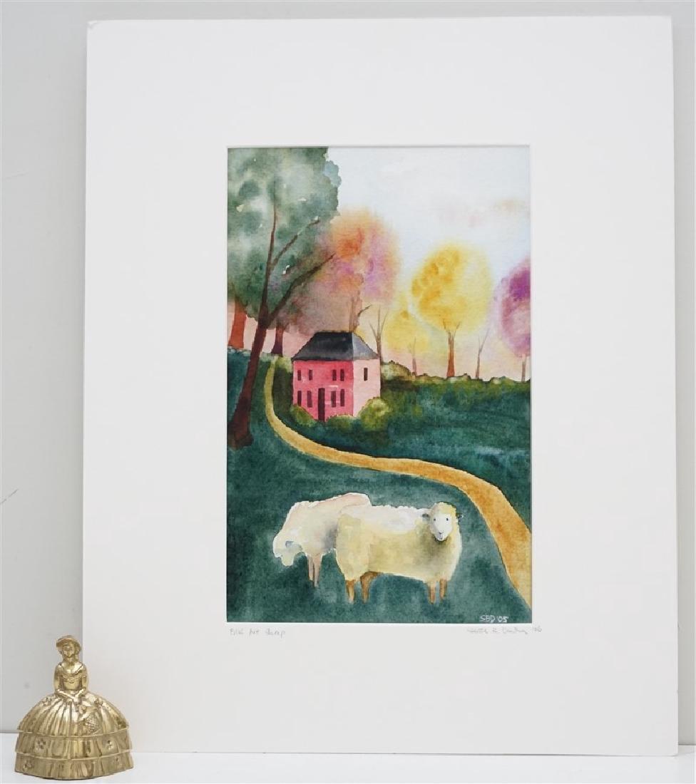 ORIGINAL SARAH BUELL DOWLING FOLK ART - 5