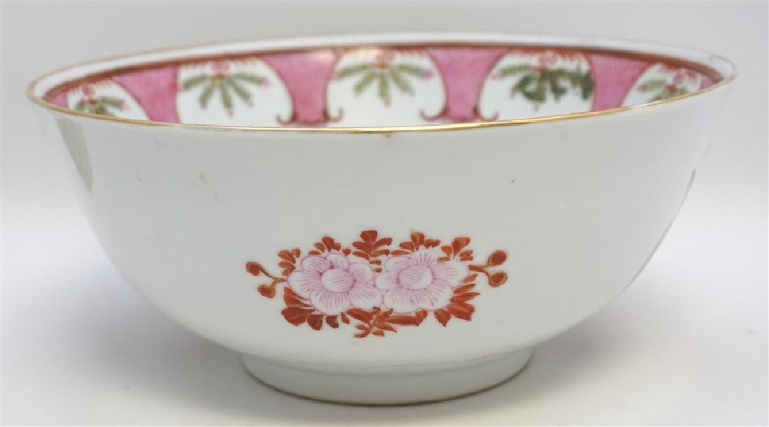 CHINESE EXPORT FEDERAL EAGLE BOWL - 5