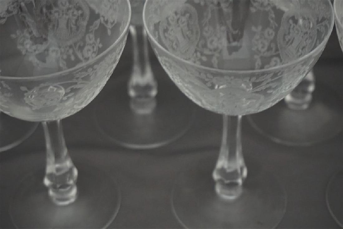 7 GLASTONBURY LOTUS BRIDAL BOUQUET CHAMPAGNES - 6