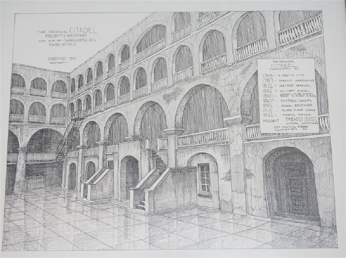 ORIGINAL CITADEL BOB GRENKO PEN & INK - 2