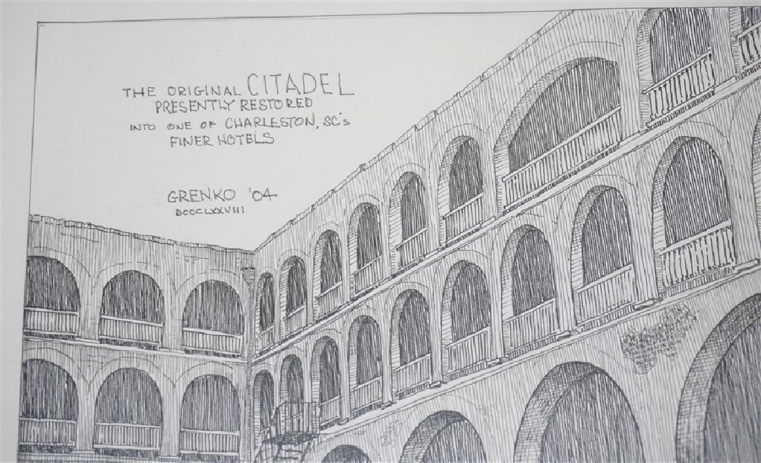 ORIGINAL CITADEL BOB GRENKO PEN & INK - 3