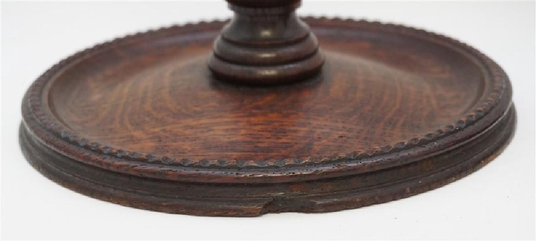 c. 1890 TURNED BARLEY TWIST CANDLESTICKS - 6