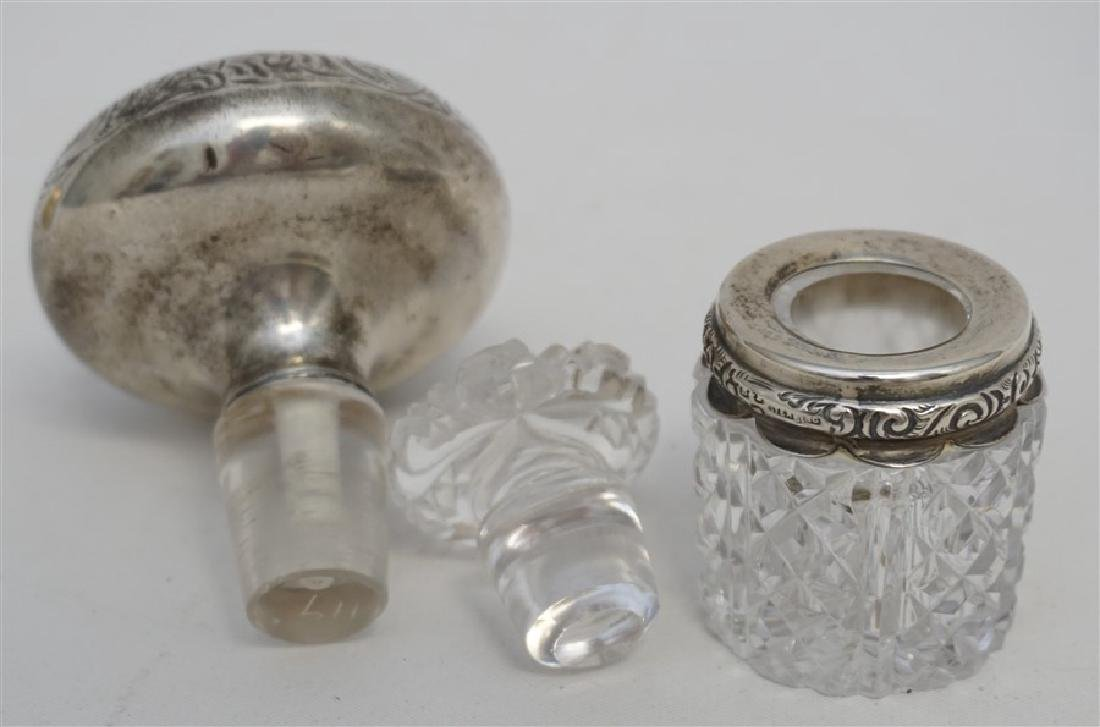 3 PC ANTIQUE STERLING SCENT - CARD + - 7