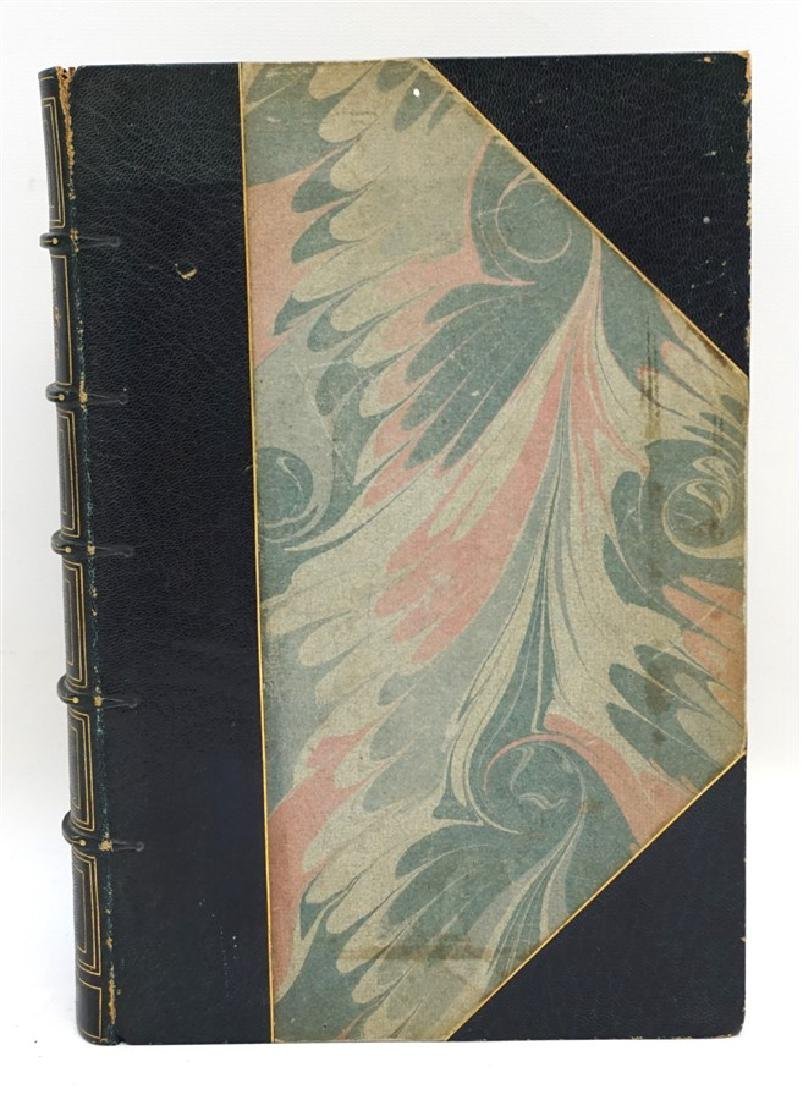 RARE WASHINGTON IRVING AUTOGRAPHED BOOK