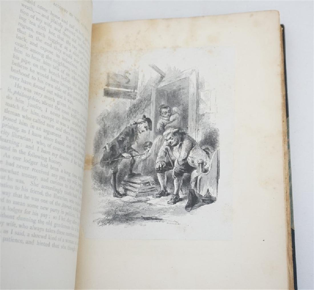 RARE WASHINGTON IRVING AUTOGRAPHED BOOK - 9