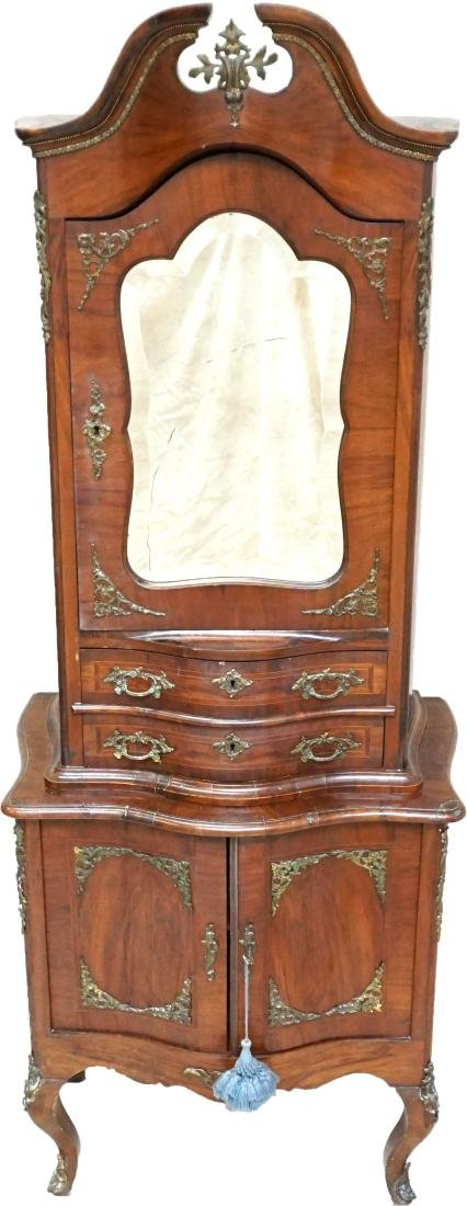 ANTIQUE FRENCH LADIES CABINET
