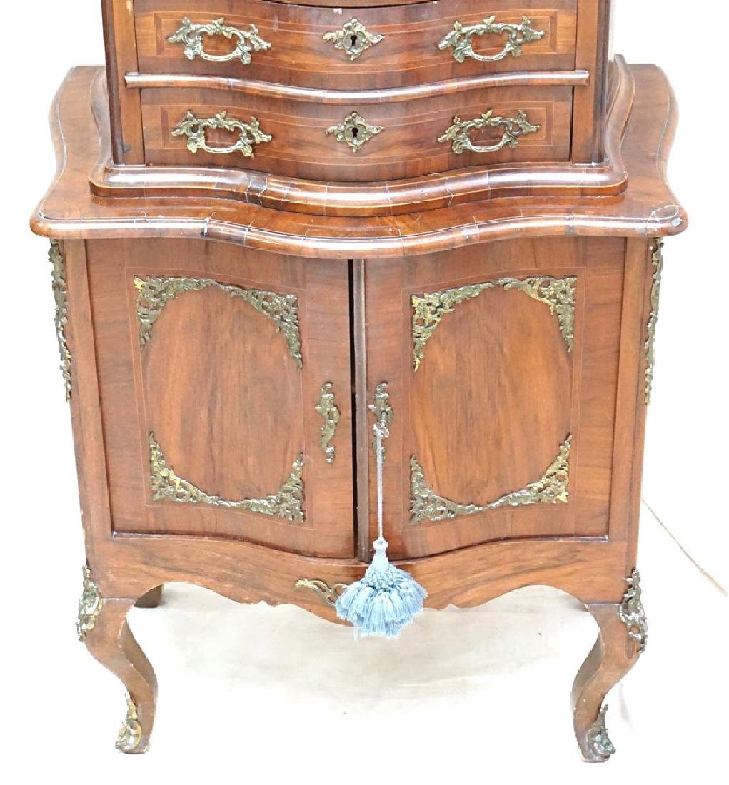 ANTIQUE FRENCH LADIES CABINET - 3