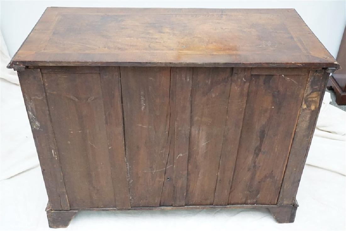 ENGLISH CHIPPENDALE WALNUT CHEST - 10