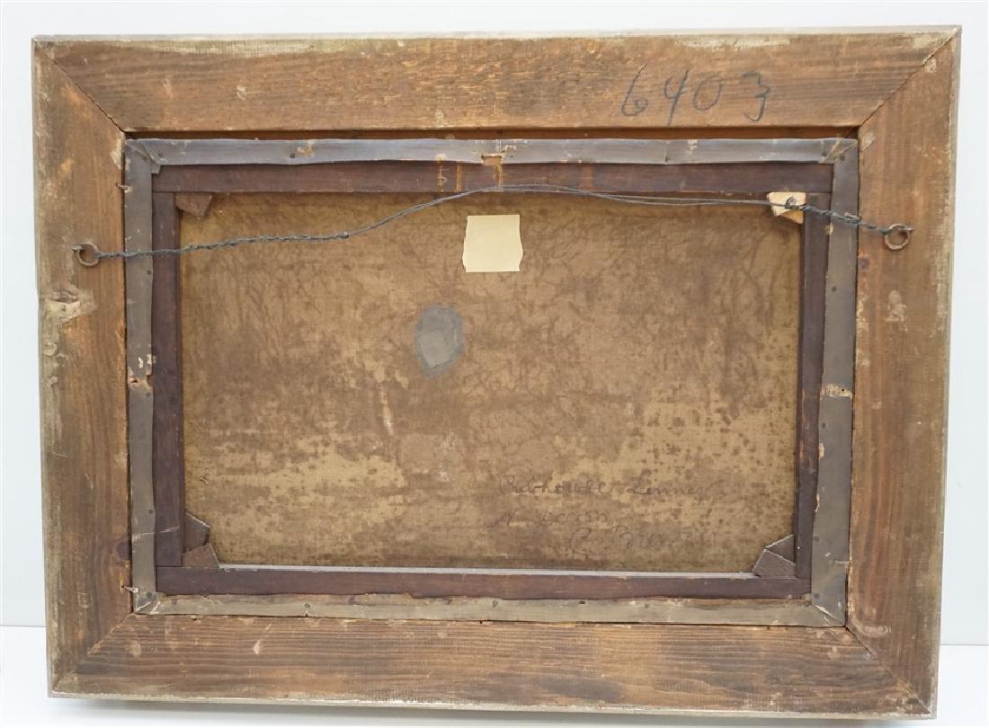 CARL BRENNIR (1850-1920) LANDSCAPE OIL - 10