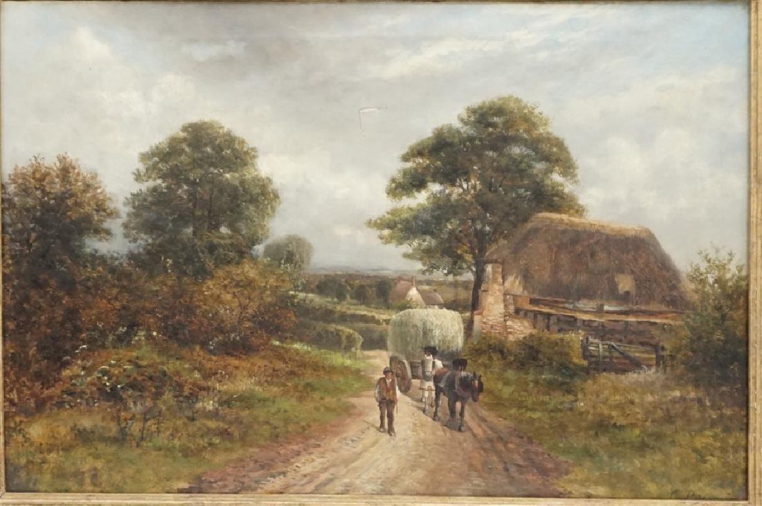 CARL BRENNIR (1850-1920) LANDSCAPE OIL - 2