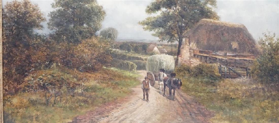 CARL BRENNIR (1850-1920) LANDSCAPE OIL - 3