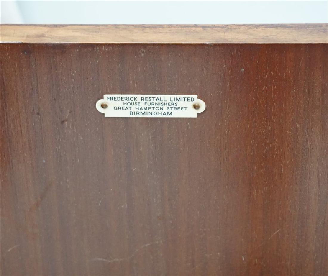 ENGLISH BURLED WALNUT CABINET - 6