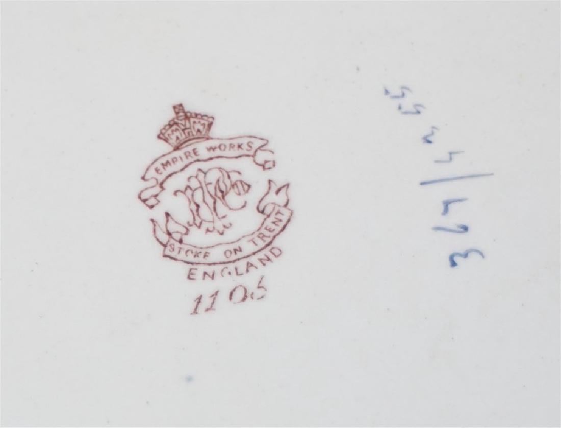 3 pc ENGLISH VICTORIAN IMARI EMPIRE WORKS - 9