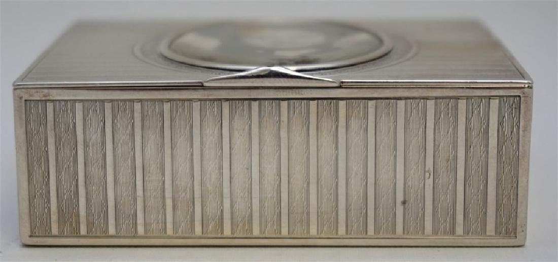EDWARDIAN FRENCH SILVER DRESSER BOX - 4