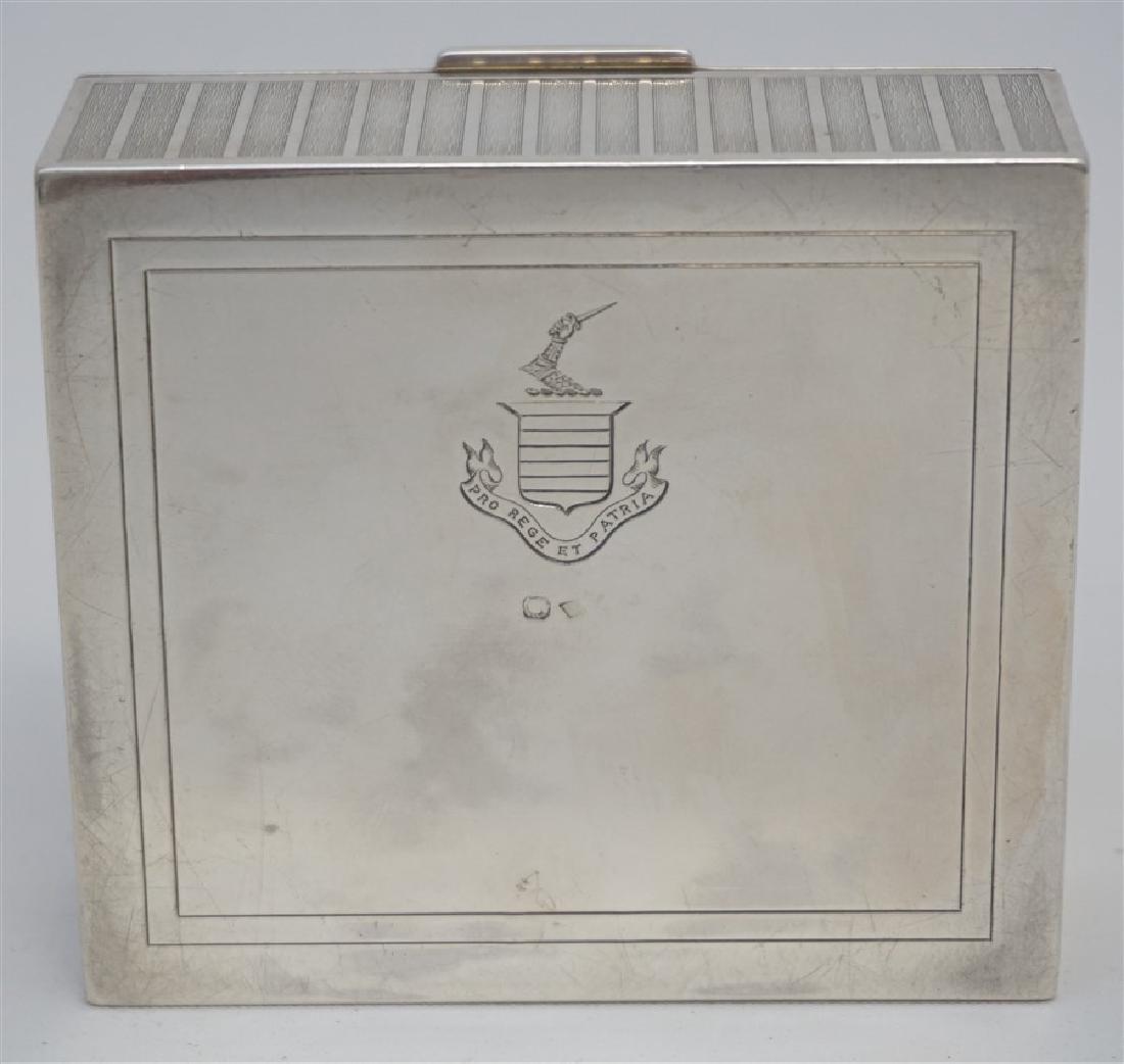 EDWARDIAN FRENCH SILVER DRESSER BOX - 9