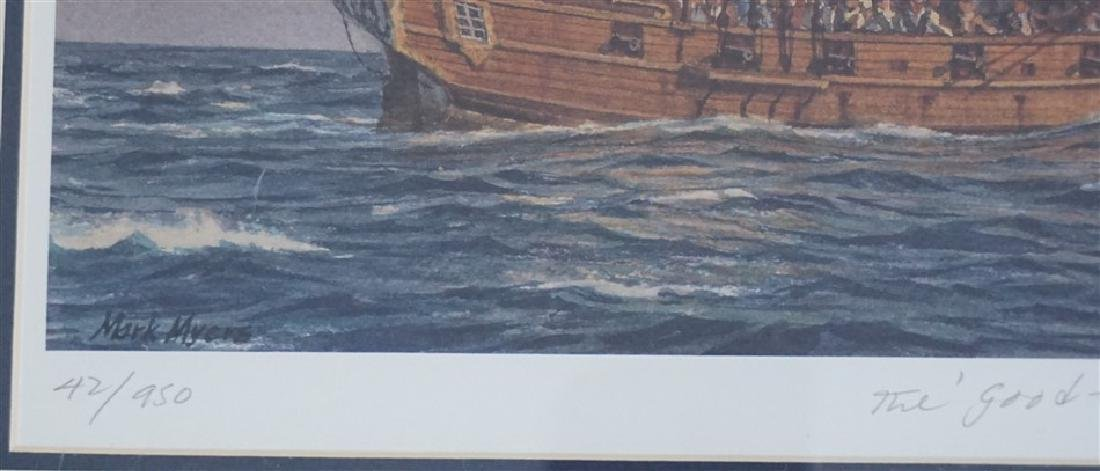 MARK MYERS THE GOOD FORTUNE LITHO - 4