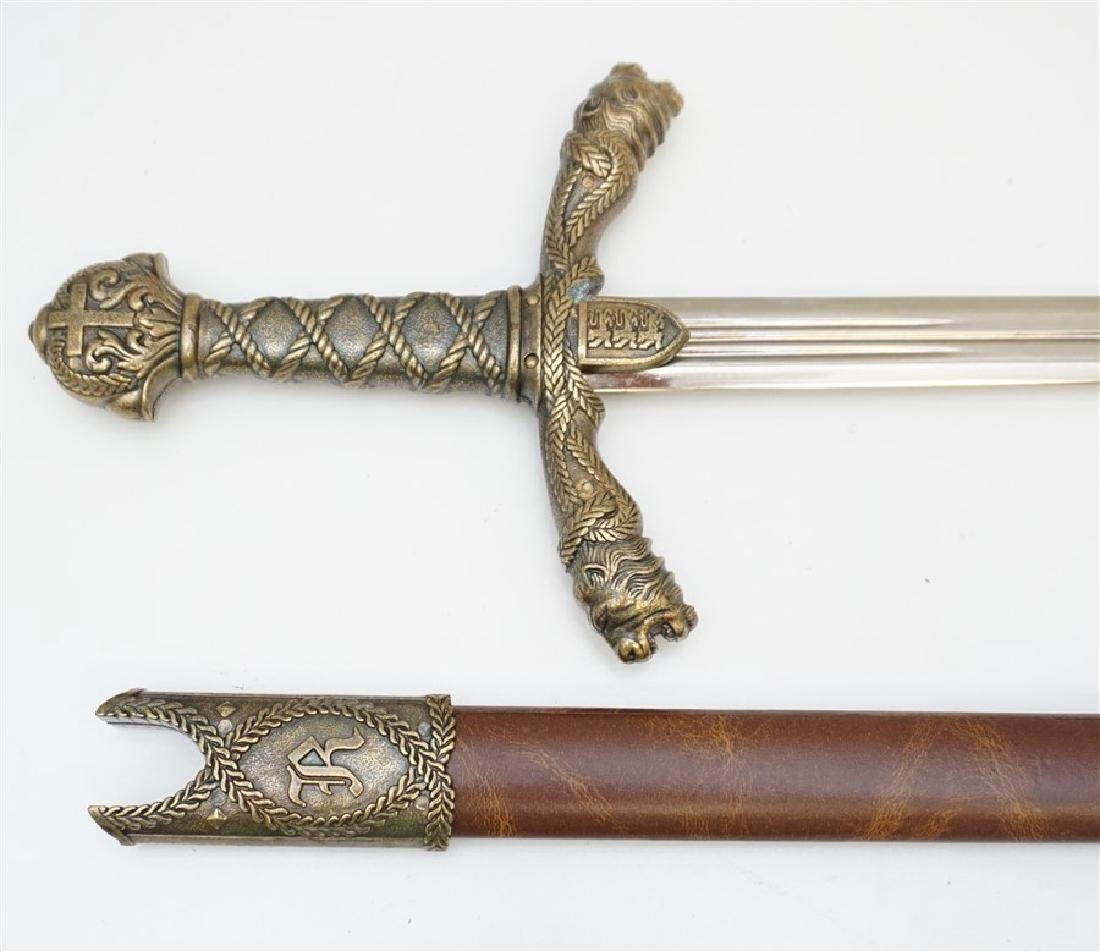 RICHARD THE LIONHEART SWORD - 3