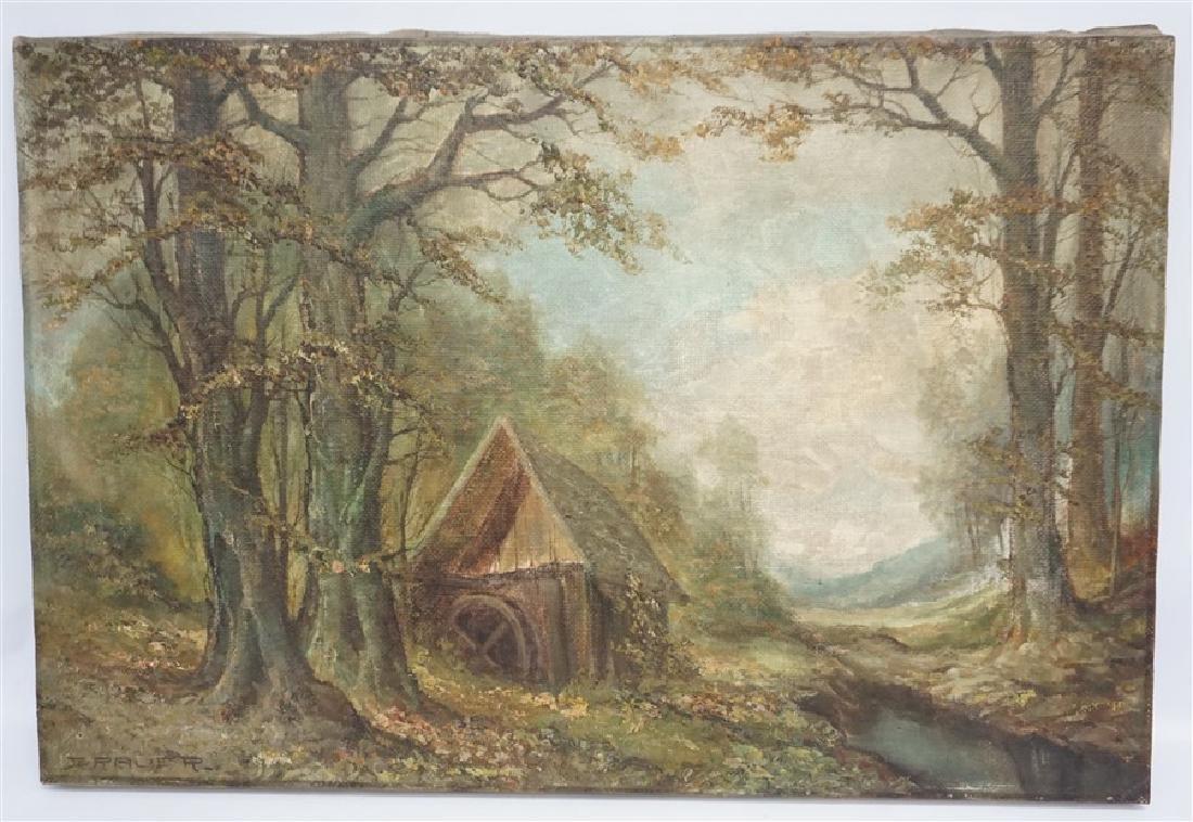WILHELM BRAUER (b.1924) LANDSCAPE
