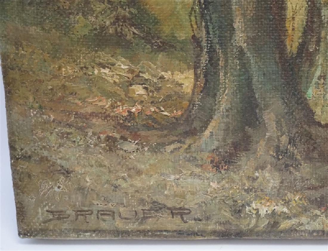 WILHELM BRAUER (b.1924) LANDSCAPE - 2