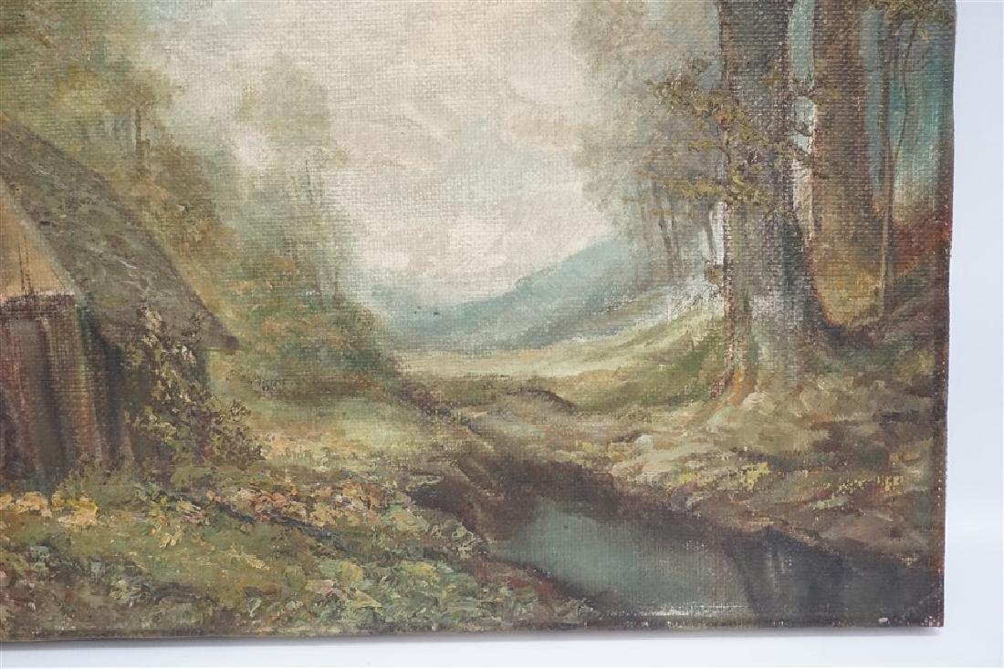 WILHELM BRAUER (b.1924) LANDSCAPE - 4