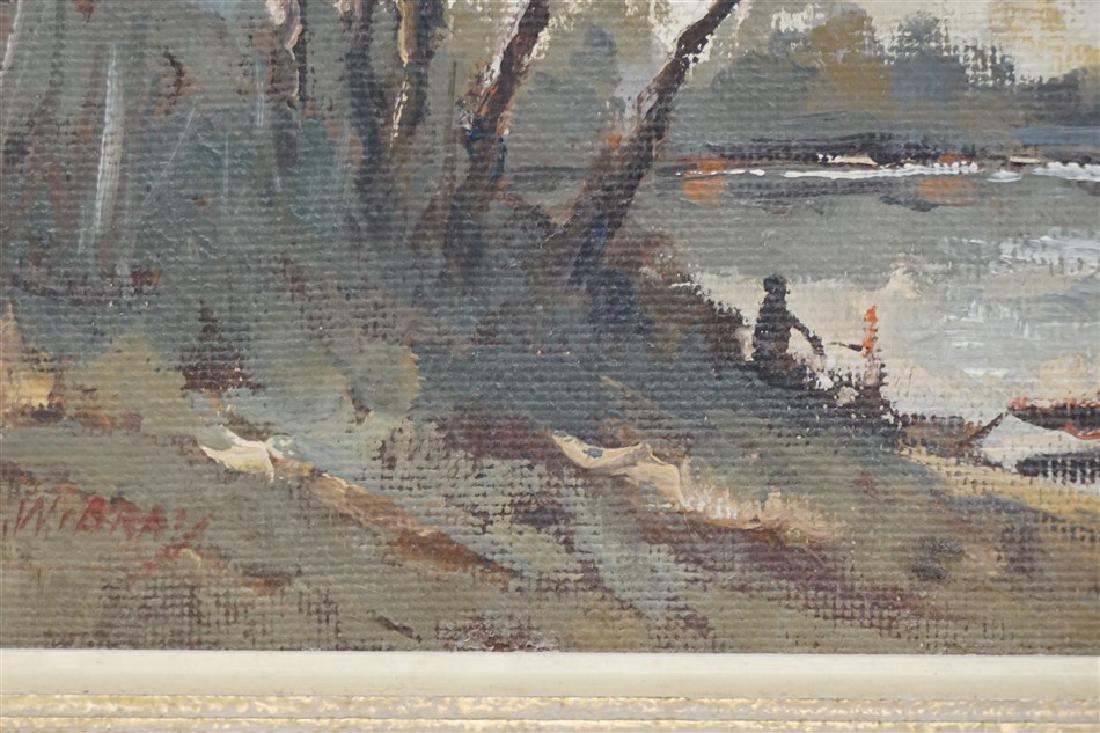 VINTAGE LAKE LANDSCAPE G. WIBRAY - 4