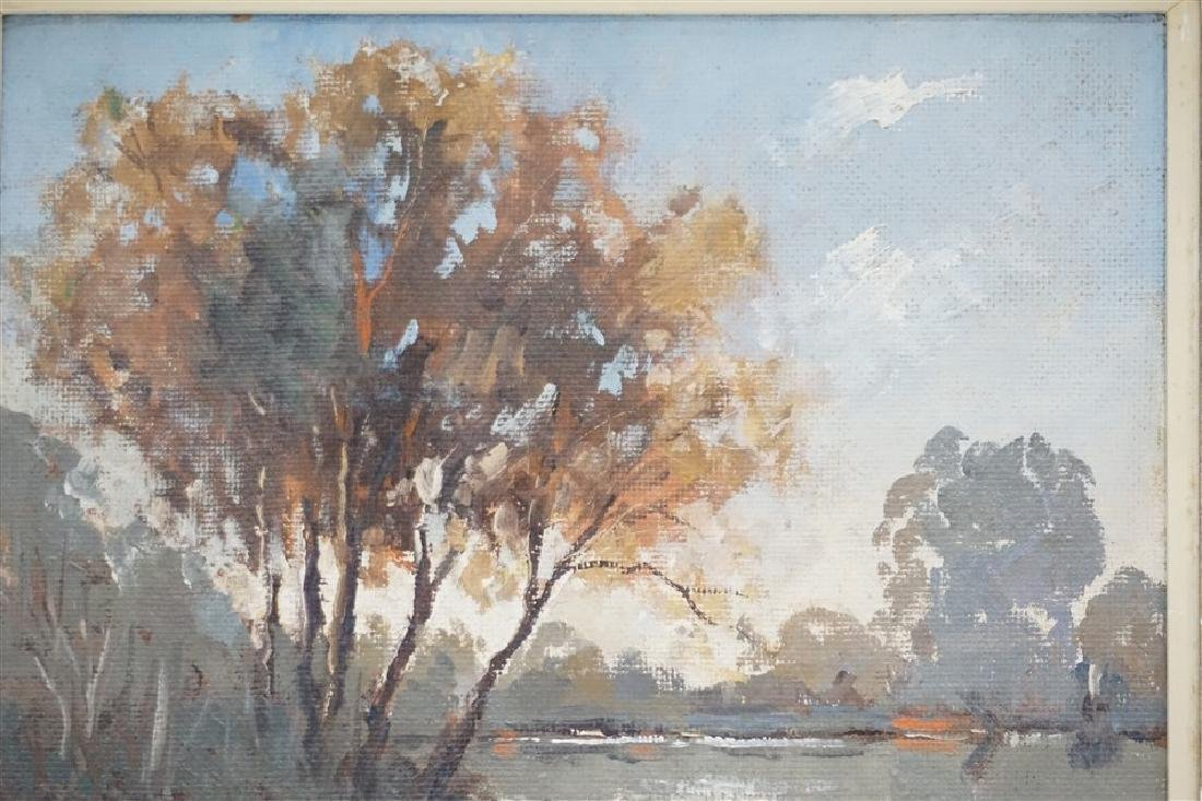 VINTAGE LAKE LANDSCAPE G. WIBRAY - 5