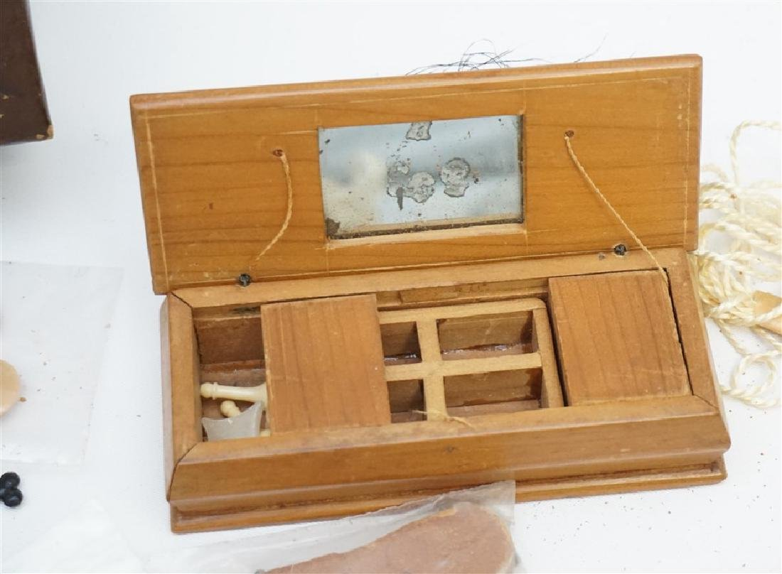 VINTAGE SEWING / DRESSER BOX FULL - 4