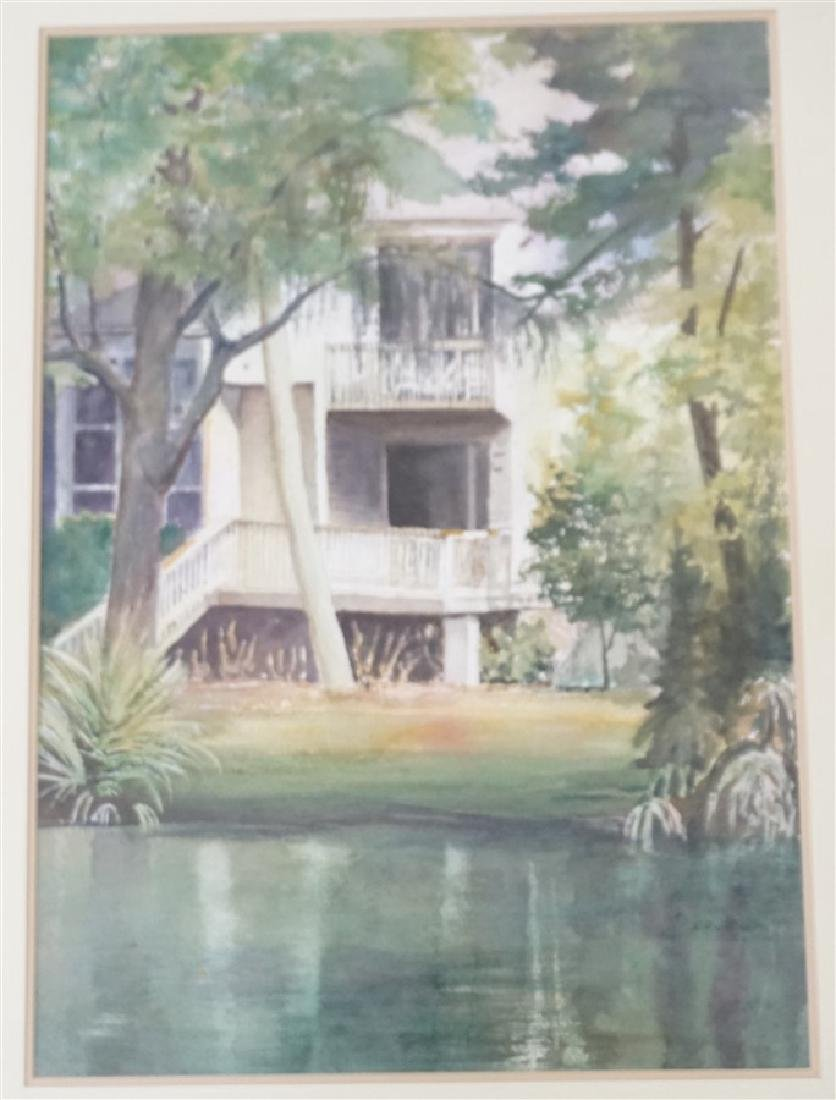 SOUTHERN RETREAT WATERCOLOR CHRIS ARDELEAN - 2