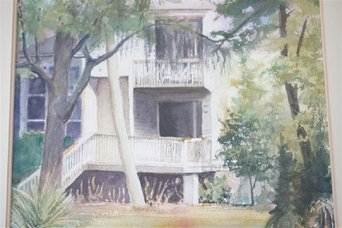SOUTHERN RETREAT WATERCOLOR CHRIS ARDELEAN - 4