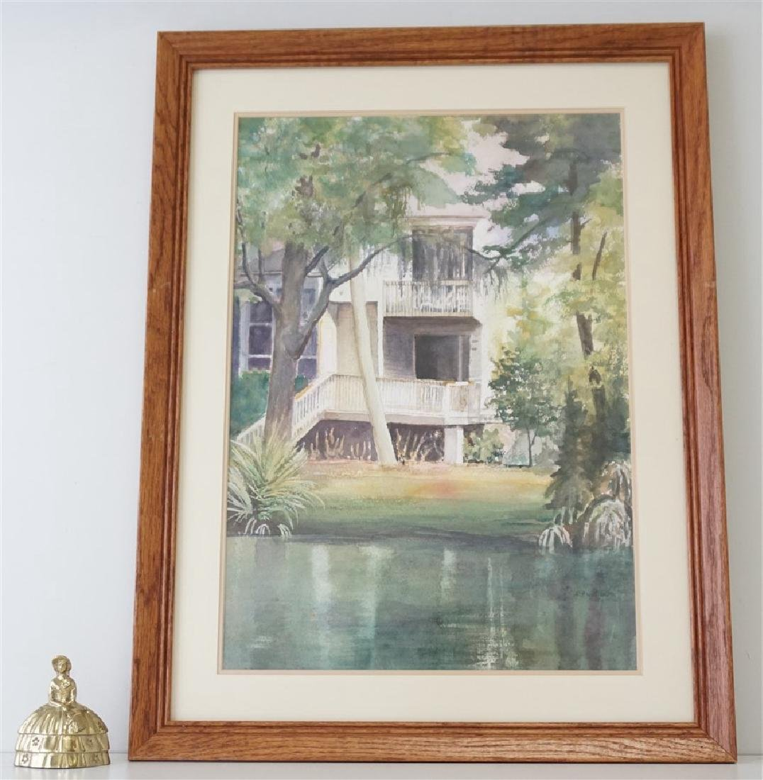 SOUTHERN RETREAT WATERCOLOR CHRIS ARDELEAN - 7