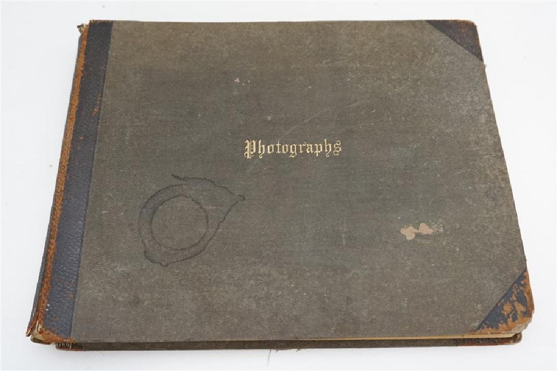 19TH C. FELIX REIFSCHNEIDER PHOTO ALBUM