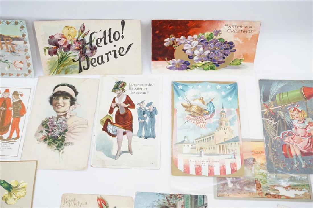 50 VICTORIAN POSTCARDS / TRADECARDS - 3