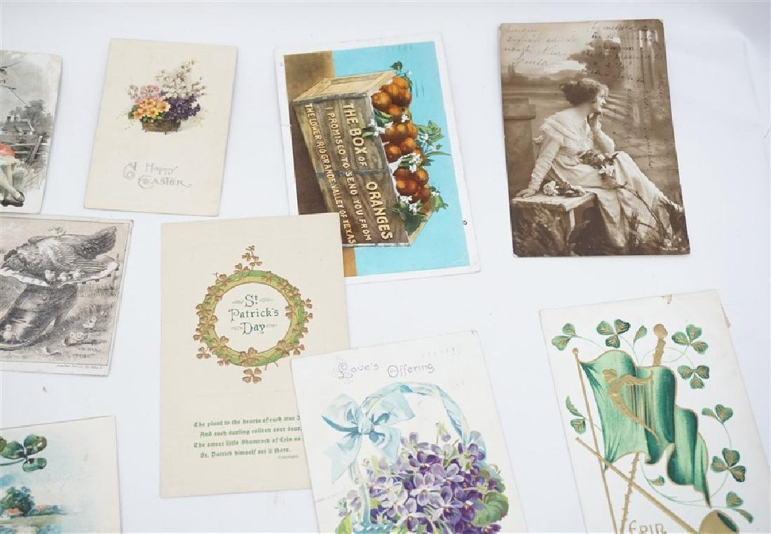 50 VICTORIAN POSTCARDS / TRADECARDS - 5