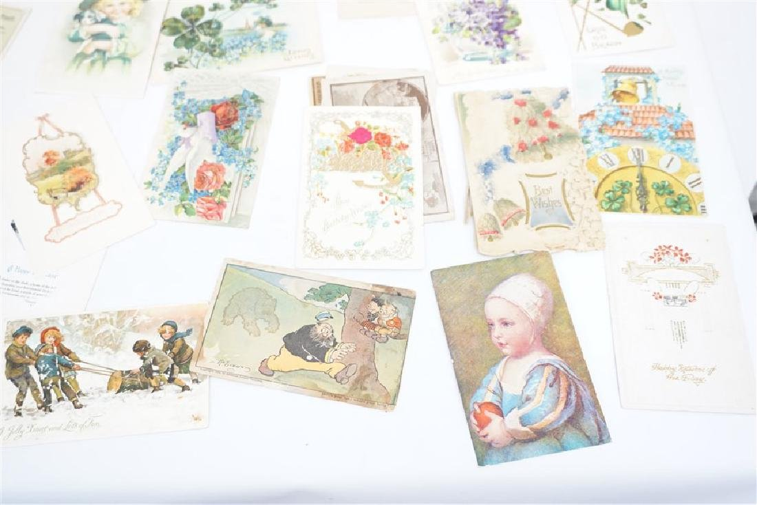 50 VICTORIAN POSTCARDS / TRADECARDS - 6