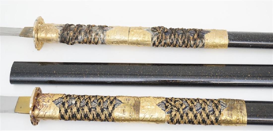 3 JAPANESE SAMURAI NAGINATA - 4