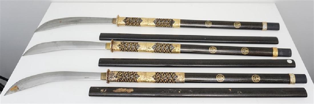 3 JAPANESE SAMURAI NAGINATA - 6