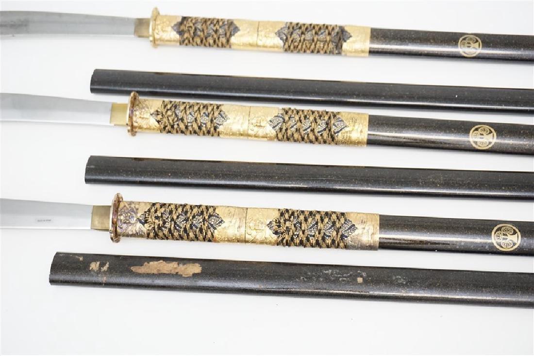 3 JAPANESE SAMURAI NAGINATA - 7