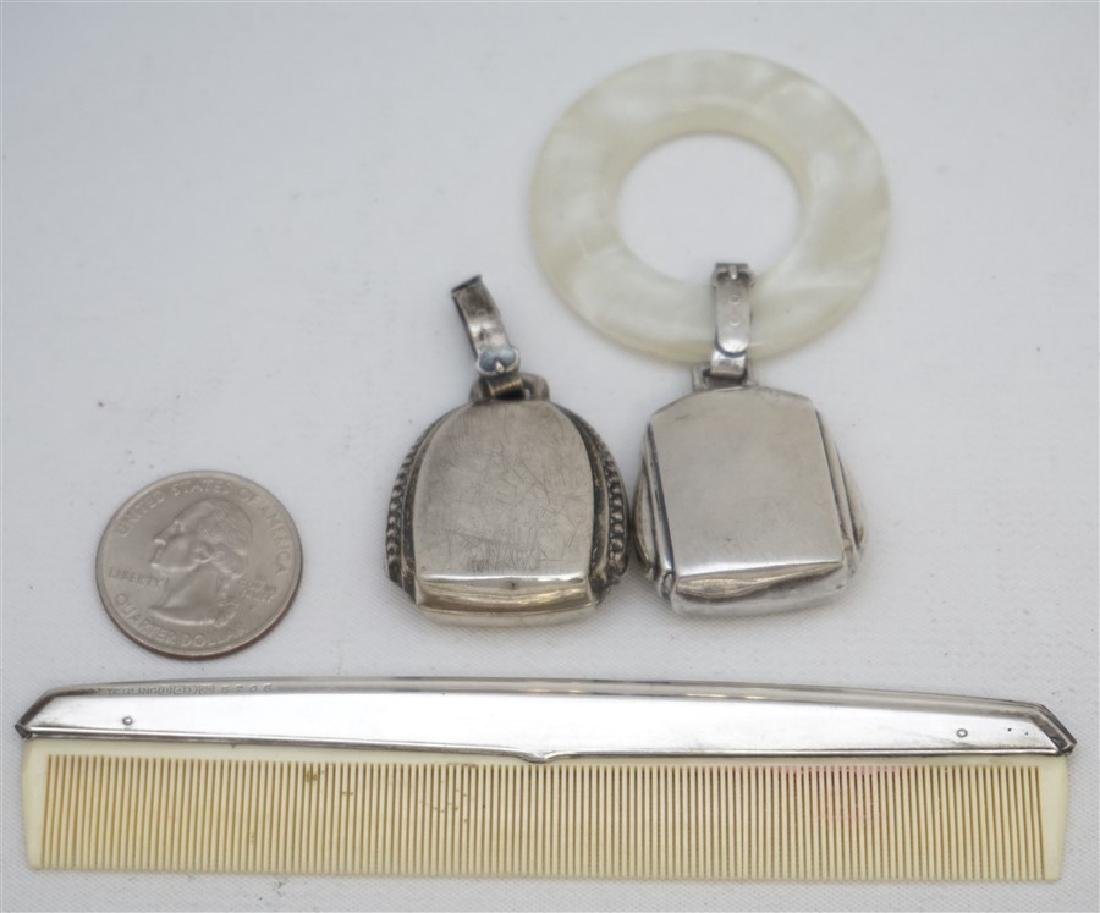 3PC STERLING SILVER BABY ITEMS - 5