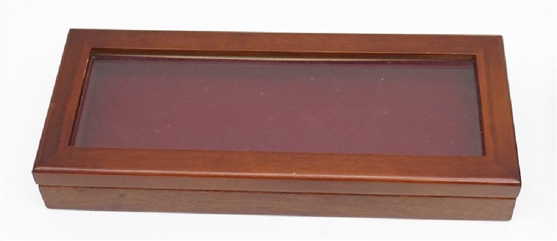 EGYPTIAN SHORT SWORD & 2 DISPLAY BOXES - 5